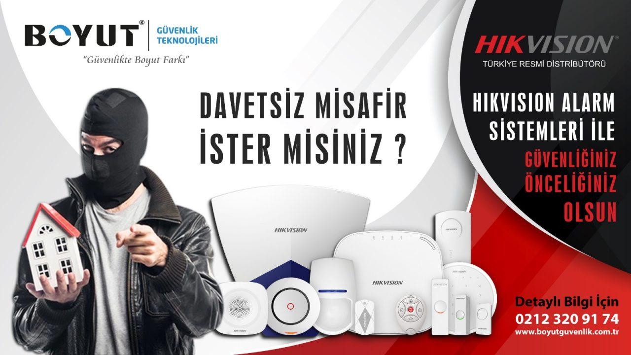 hikvision alarm alarm sistemleri